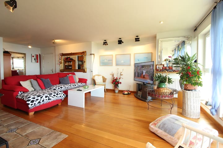 Maravilloso piso en la bahía de Santander