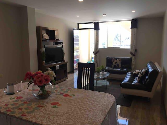 hermoso departamento amoblado ( private apartment)