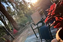 New!!! Guest patio at sunrise