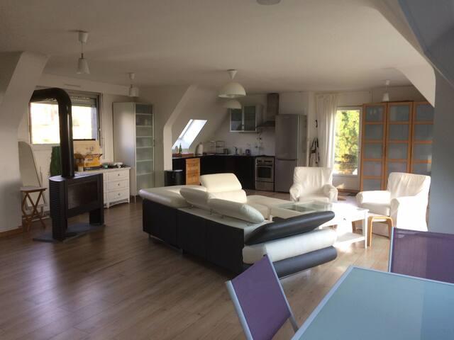 Maison vue sur mer
