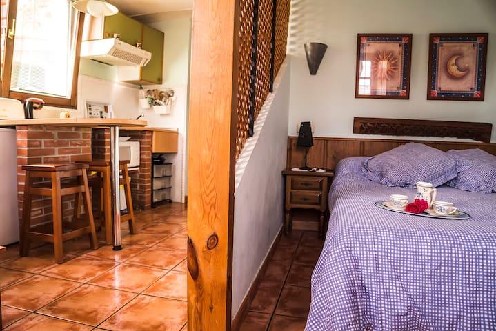 Estudio para 2 en la costa : mar y montaña - Ribadesella - 公寓
