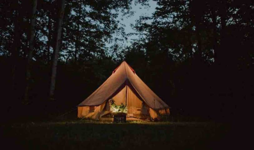 "Boho Tent at Rocky Top ""Preserve"""