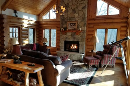 Galena Luxury Log Cabin Retreat