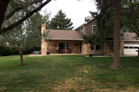 Centrally located 5acre home - Mead - Maison