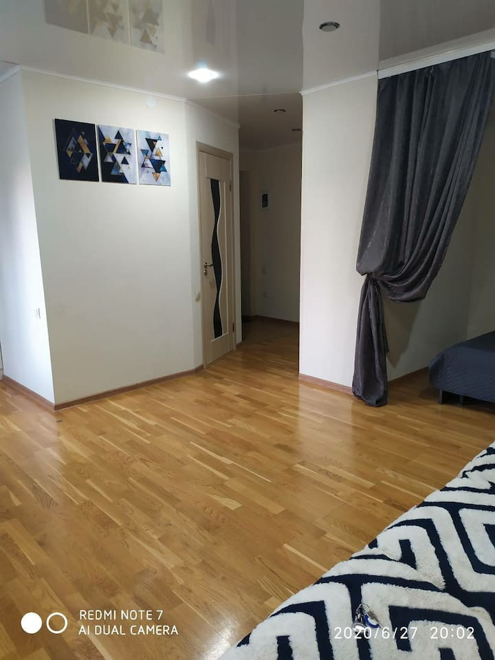 Уютная квартира - студия  в центре города