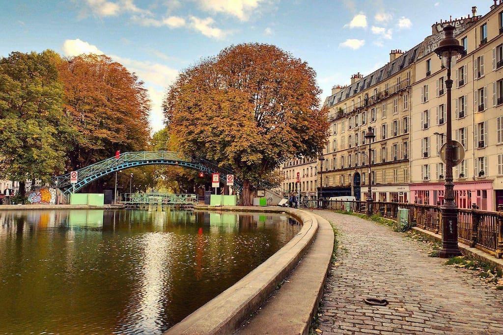 Neighborhood - Canal Saint-Martin