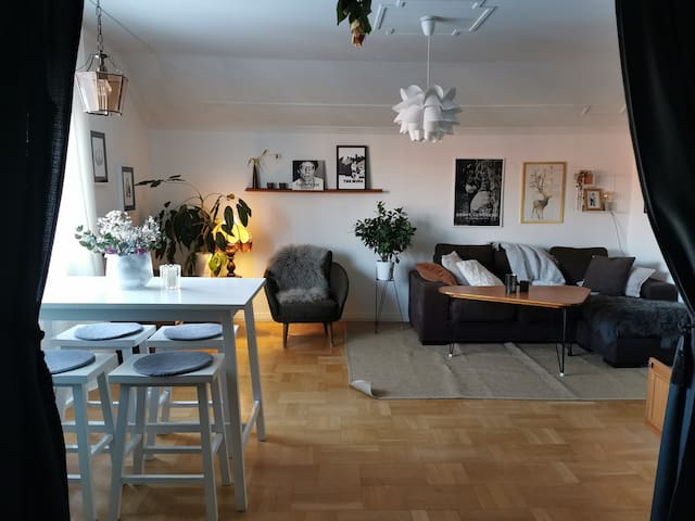 Cozy apartment with balcony close to city center