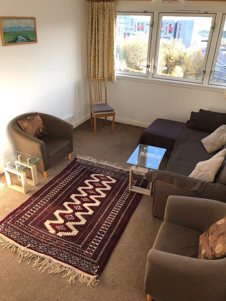 Spacious one bedroom apartment in center of London