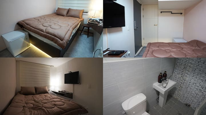 #305 Sinchon Sta 2mins, Hongdae 8mins Blue Mansion