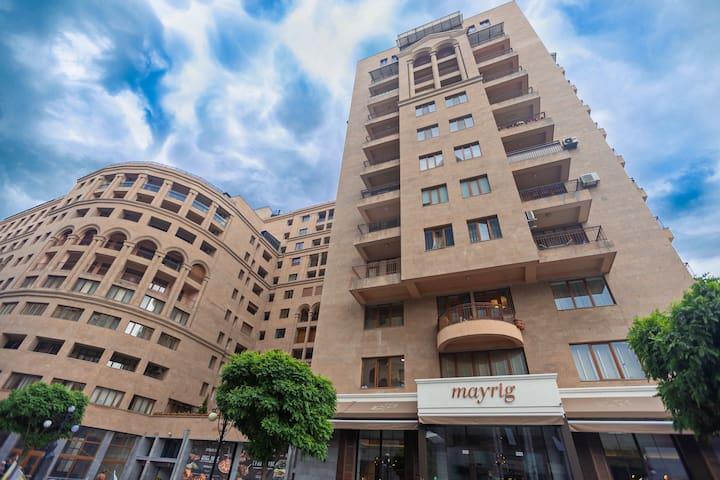 ARMT-Gorgeous apt on Amiryan Street 4/6-85