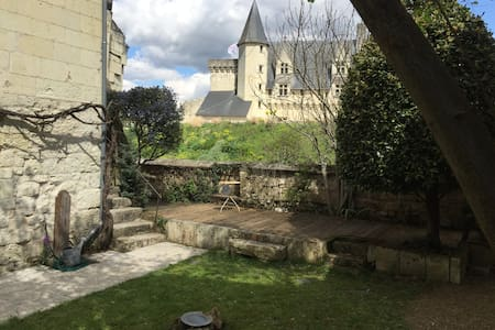 Maison avec jardin, vallée de la Loire - Montsoreau - บ้าน