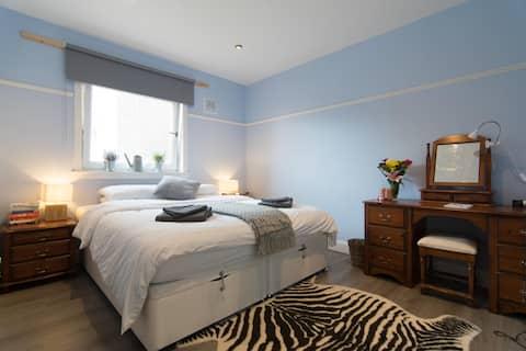 Govan - Tranquillo, spaziosa casa a 2 letti vicino a SECC