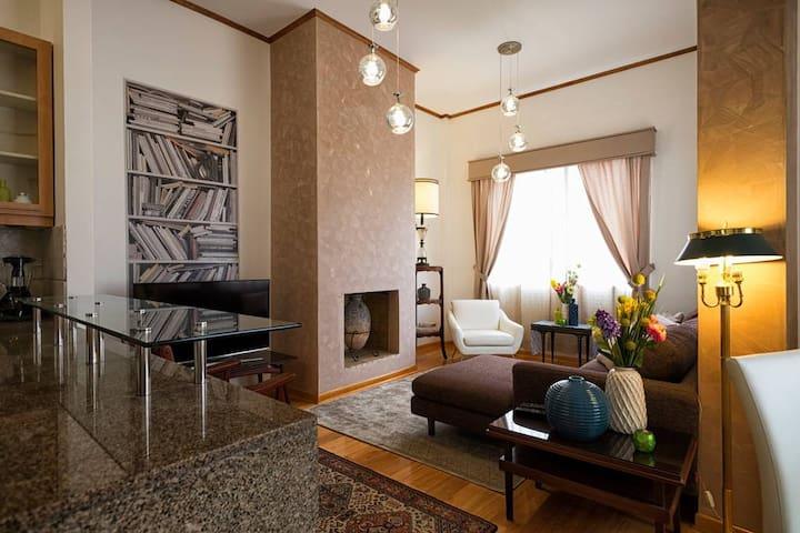 Espaciosa & 2 dormitorios con Jardin privado