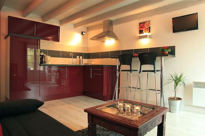 Duplex à la ferme Alpagâterie : esprit cabane chic - Juillac - Natur-Lodge