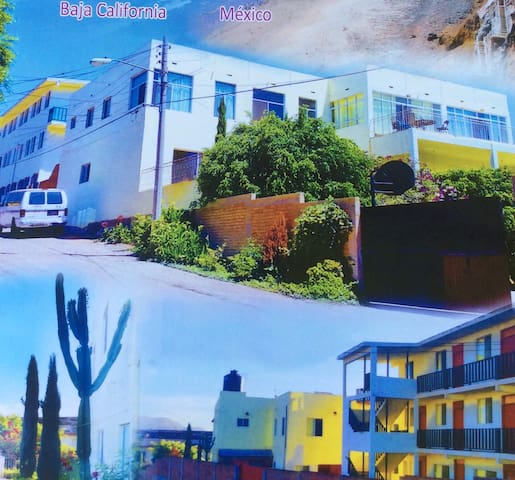High on the Hill with Panoramic View of Baja Ocean - Primo Tapia - Dorm