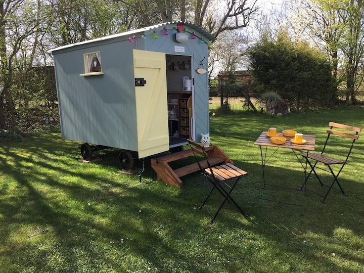 'The Birdbox'  unique ' tiny' shepherds hut.