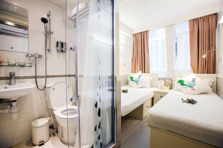 Fortune Inn Deluxe Room 6 豪華雙床房