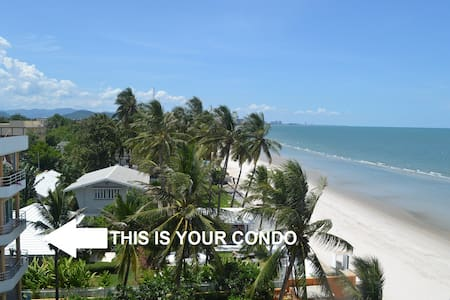 HUA HIN CITY CENTRE CONDO RIGHT ON THE BEACH - Tambon Hua Hin