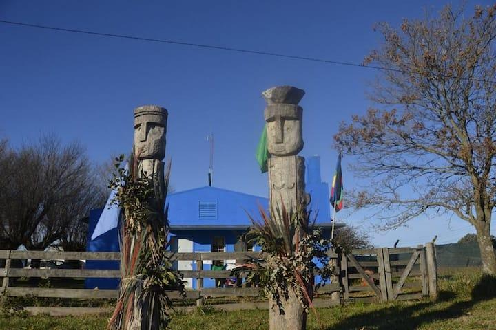 Kajfü Ruka: Casa Azul