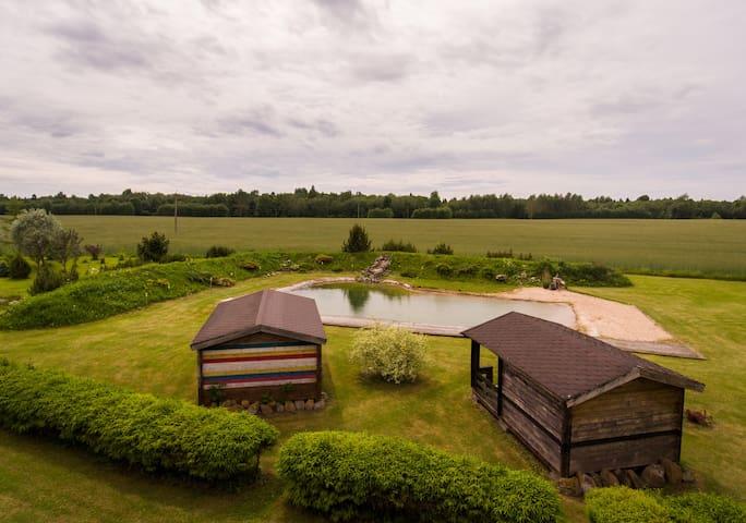 Kaarli talu - small country cabin (house #2)