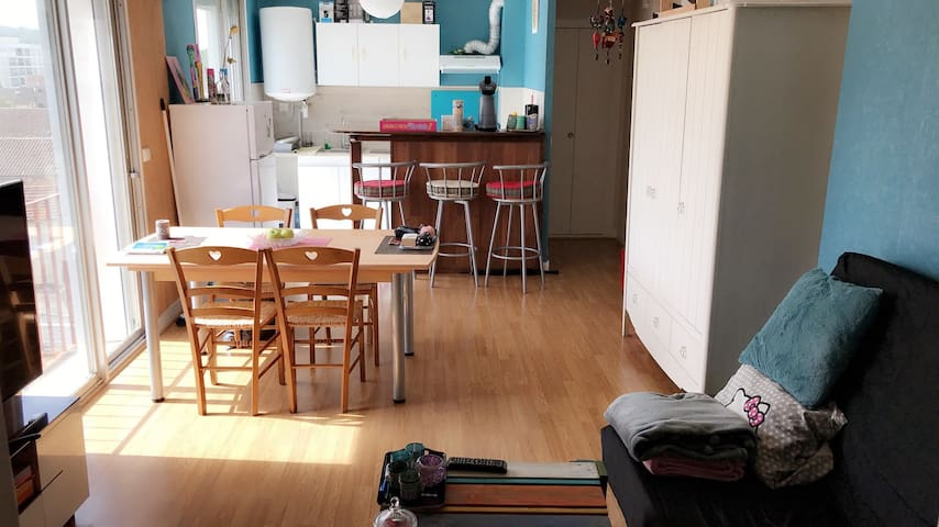 Appartement 47M2 à 5mn de Périgueux Centre