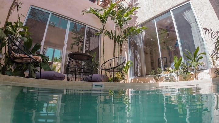 ••Casa Bohemia•• House w/pool ,4bdr