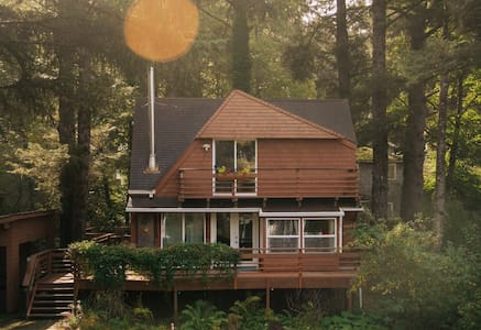 The Haystack Haus - A Cabin on the Oregon Coast