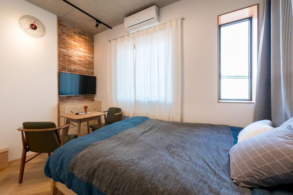 Sweet bed room!