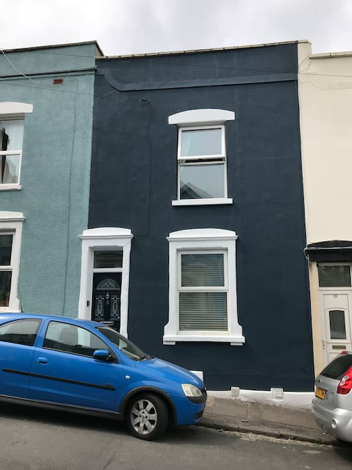 The house has recently been painted and we love the new look!!