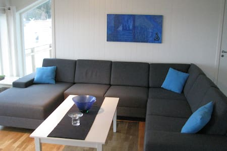 Modern new house, good view, 4 bedrooms - Trondheim - Haus