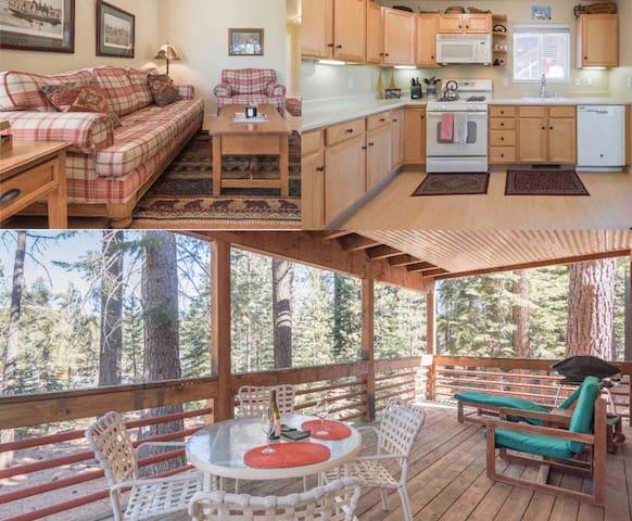 Tahoe Donner Cozy Condo