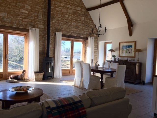 Authentic 4 star  French country barn in Limousin