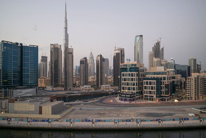 nice cozy apartment, fantastic view to Burj Khal. - Dubai