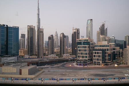 nice cozy apartment, fantastic view to Burj Khal. - Dubai - Apartment