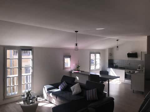 Appartement de 80m² et calme