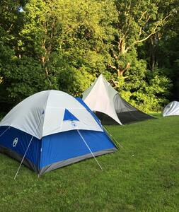 BYOT (Bring your own tent)