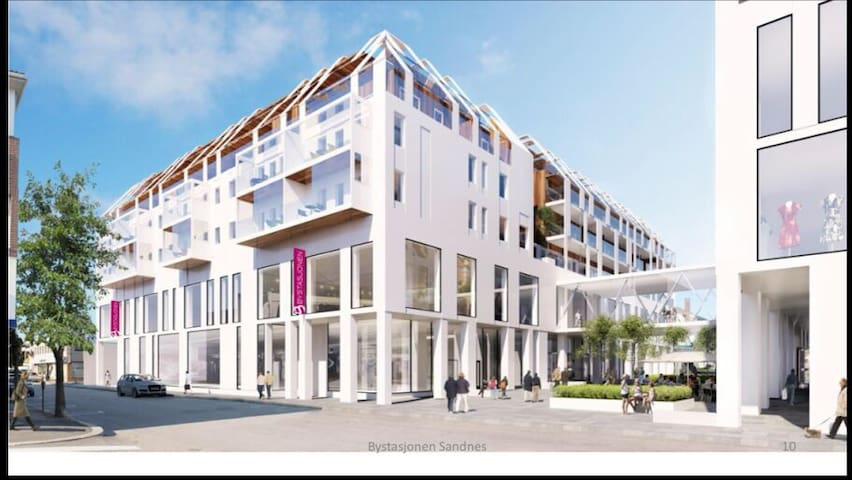 Urban apartment in the heart of Sandnes city.