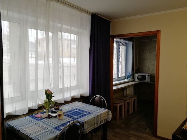 Apartment with the view to Gorny Vozdukh!!!