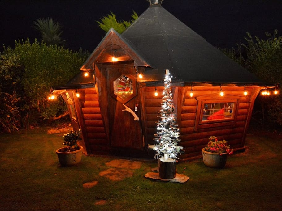 The Cabin at Christmas Time