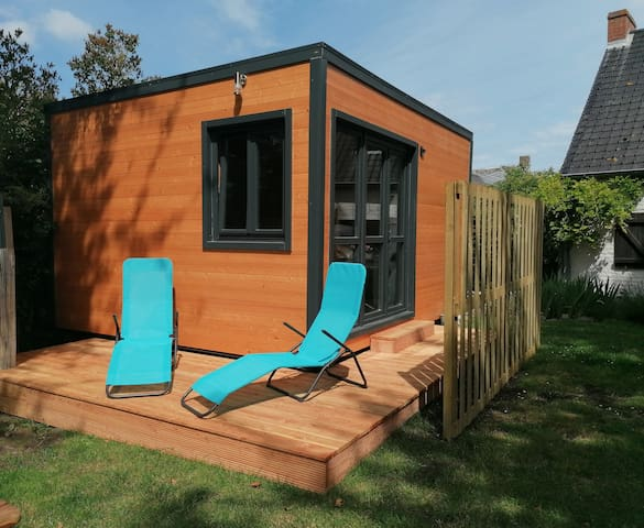 Wood Om Cocoon, tiny house bien être