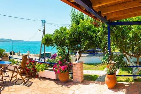 Villa Rosanna-Studio(2persones).Δίπλα στην Θάλασσα - Plataria - Wohnung