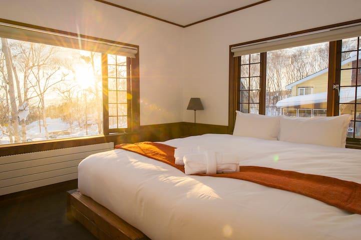 Lodge 401 Niseko King / Twin Room 202
