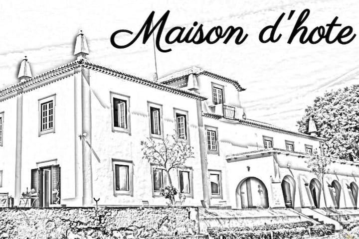 Maison d´hote. A sua casa no centro de Portugal.