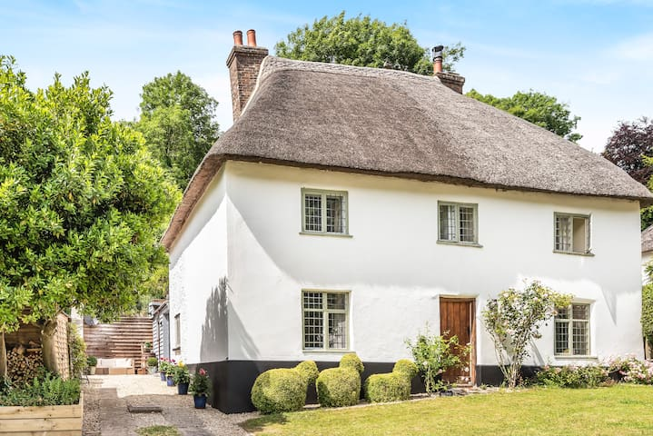 Cosy Milton Abbas cottage in the heart of Dorset
