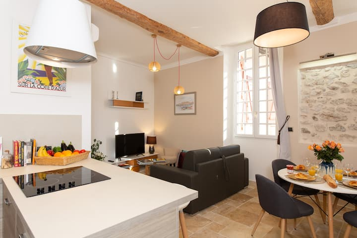 BRAND NEW flat in Antibes for 4 - Le Rempart