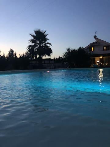Bella casa con accesso piscina