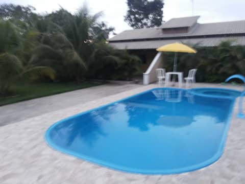 Aruanã - 02 Lodges with pool - Great location