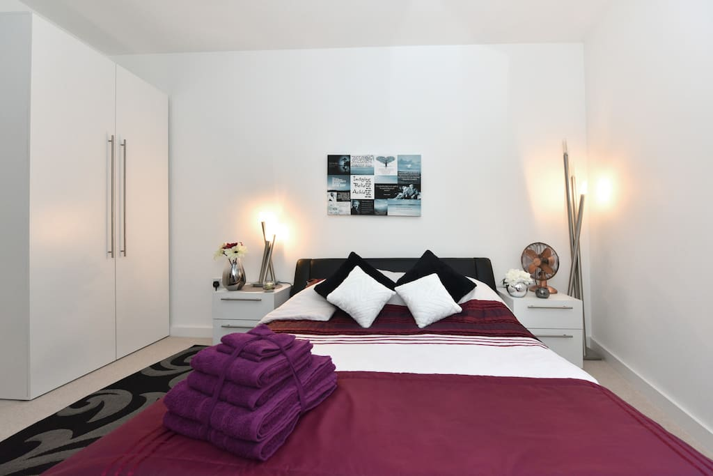 Guest Towels/ Double Bed