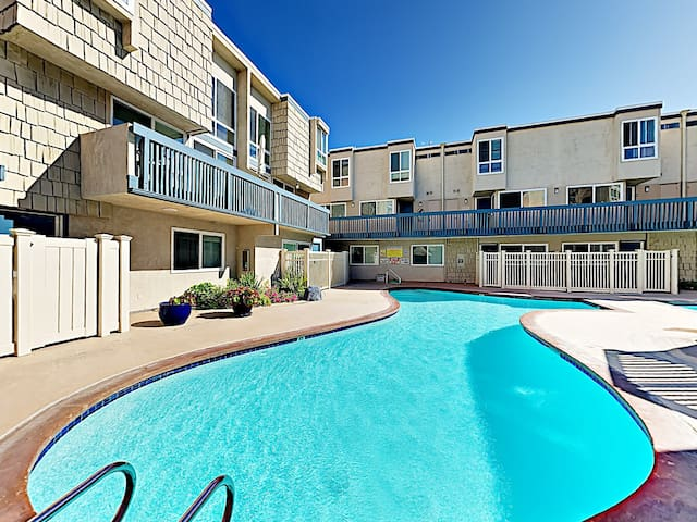 Your rental includes access to 2 year-round heated pools and a hot tub.