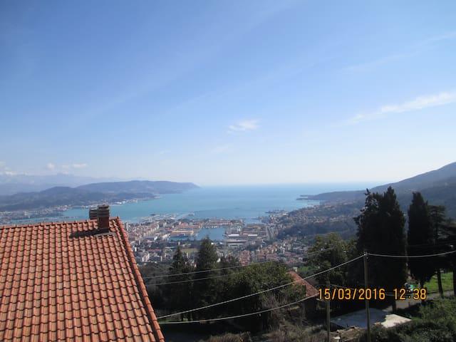 Villa ROSA 5 Terre: seaview & relax - La Spezia - Casa